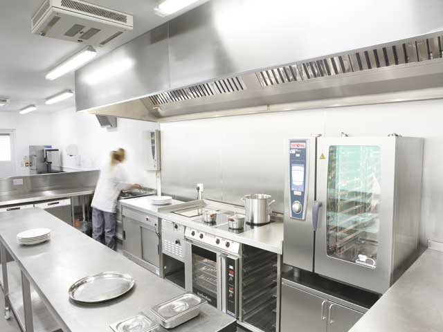 how to make a commercial kitchen